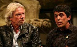 Todd McCormick and Richard Branson