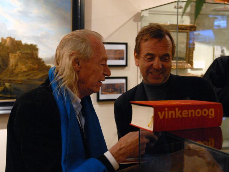 Simon Vinkenoog and Ben Dronkers