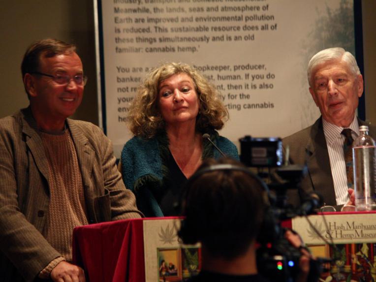 Ben Dronkers, Edith Ringnalda and Dries van Agt