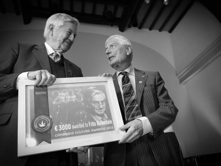 Dries van Agt and Frits Bolkestein