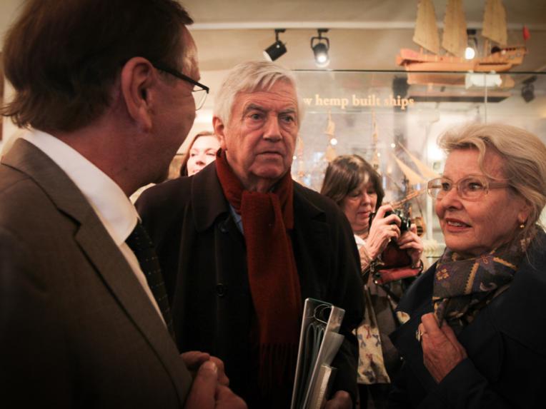 Ben Dronkers, Frits Bolkestein and Femke Boersma