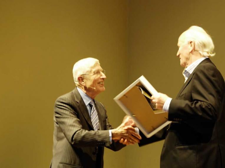 Thorvald Stoltenberg en Dries van Agt