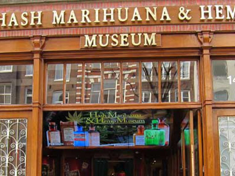Hash Marihuana and Hemp Museum Amsterdam