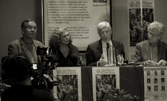 Frederik Polak, Ben Dronkers, Edith Ringnalde and Dries van Agt