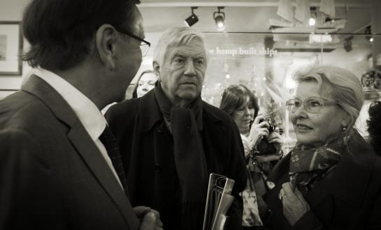 Ben Dronkers, Frits Bolkestein en Femke Boersma