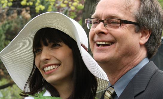 Marc and Jodie Emery