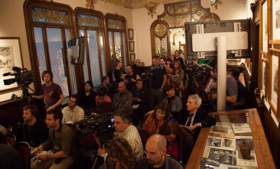 Press conference Cannabis Culture Awards 2012 Barcelona part 2/2