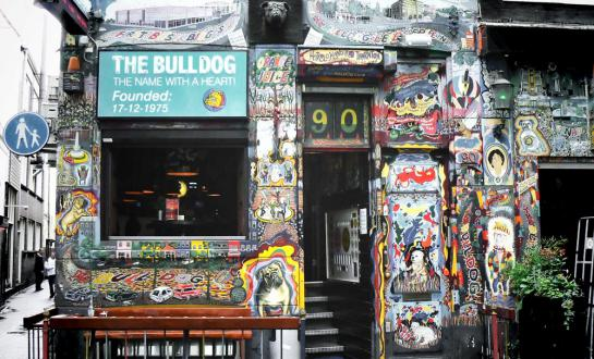 The Bulldog Cafe