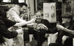 Feestelijke toast