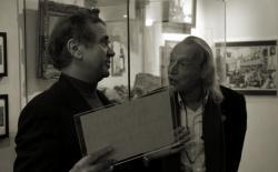 Ben Dronkers en Simon Vinkenoog