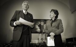 Hanneke Groenteman en Frits Bolkestein