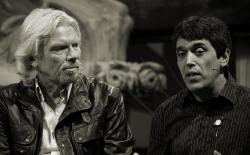 Todd McCormick en Richard Branson