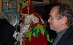 Ben Dronkers and Green Sinterklaas