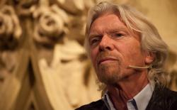 Richard Branson gedurende de Cannabis Culture Awards ceremonie